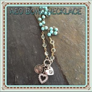 American Eagle Outfitters Boho Style Necklace